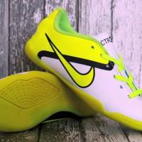 Nike CTR 360 Kuning Putih Anak(sepatu futsal anak,kids,soccer,sport)