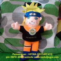 Boneka Wisuda Naruto  plus Pin dan Bordir Nama 40 cm