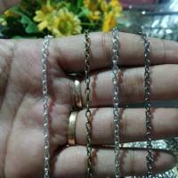 Rantai Nuri 2mm, Bahan Gelang/Kalung/Juntai Bross