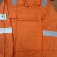 baju safety/baju kerja/baju proyek/seragam/logo safety