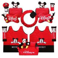 Car Set 8 in 1 Mickey / Bantal Mobil
