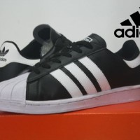 sepatu casual adidas superstar garis putih sz 39-43 (celak 1)