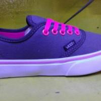 sepatu vans loli pop abu lis pink murah + box