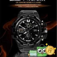 Jam Tangan Sporty S-Shock Men Watch Water Resistant 50m - SKMEI-0990