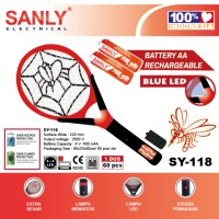 Raket nyamuk SANLY SY-118 2 AA CAS BATTERY