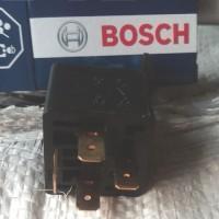 Relay Bosch 4 kaki / 4 pin 12 V 30A