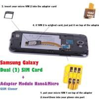 Samsung Galaxy Multi SIM Card Module Nano & Micro Adapter GSM Cloner