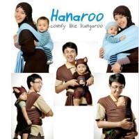 GENDONGAN BAYI HANARO - HANAROO BABYWRAP POLOS BABY WRAP KANGURU