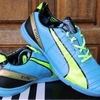 Sepatu Futsal/Olahraga Puma King Biru Hijau Grade Ori
