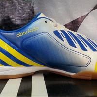 Sepatu Futsal Adidas Predator Absolado LZ White Blue(sepatu 2016)