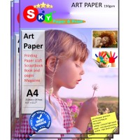 Kertas Art Paper Sky Artpaper photo 150 gsm isi 50 lembar A4