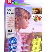 Kertas Art Paper Sky Artpaper photo 150 gsm isi 100 lembar A4
