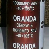 Capacitor Capasitor Kapasitor Elco 10000uf 10000 uf 50v 50 v ORANDA