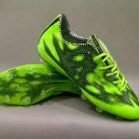 Sepatu Bola Adidas F50 Adizero FG Green/Black Original