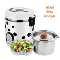 Mini Rice Cooker travelling travel organizer steamer egg master maker