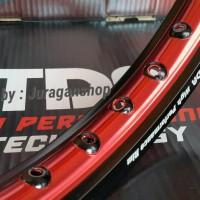Velg TDR WR 140/160 - 17 Black/Red