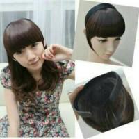 bando poni depan/hair clip/wig/ponytail
