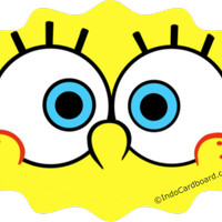 unomax Eye Sticker for Google Cardboard VR v2.0 - Spongebob