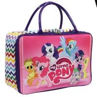 Travel Bag Anak Karakter Little Pony Bahan Kanvas - Purple