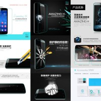 Anti Gores Nillkin H Anti-Explosion Tempered Glass Huawei Honor 3C