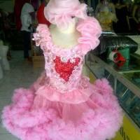 baju fashion show anak , valentine, kostum, costume pentas
