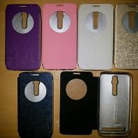 flipcase asus zenfone 2 merk ume autolock & smartview (cover,casing)