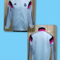 Jaket REAL MADRID Home Putih GRADE ORI