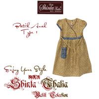 Baju Batik Cewe BUY ONE GET ONE (Dress Batik Perempuan) Type 1i