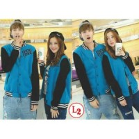 COUPLE JAKET QING LOVE TURQUISE