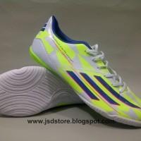 Sepatu Futsal Adidas F50 Adizero CrazyLight White/Green IN (import)