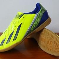 sepatu futsal Adidas F5 IN Messi Yellow/Blue