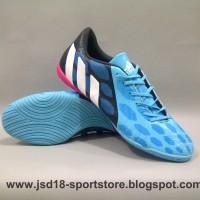 Sepatu futsal Adidas predator instinct biru IN (import)