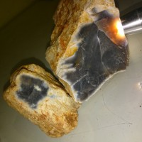 Batu aceh Jenis Kecubung Teh