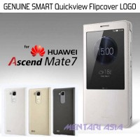 Flipcover HUAWEI Ascend Mate 7 : GENUINE SMART Quickview LOGO