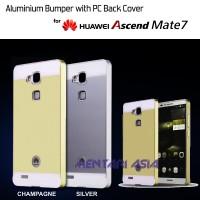 Bumper HUAWEI Ascend Mate 7 : Aluminium Bumper + Back Cover