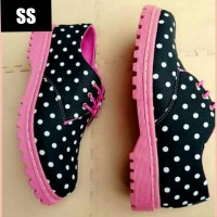 Pink Polka Docmart Shoes