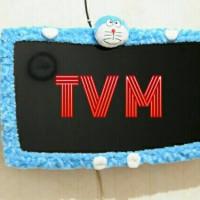 list tv doraemon,bando tv doraemon,cover tv karakter,sarung tv