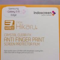 Samsung galaxy s6 edge anti gores afp clear, screen guard protector