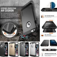 Spigen Tough Armor Hard Soft Premium Case Cover iPhone 6 Terbaru