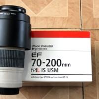 Lensa canon 70-200mm f/4 IS USM