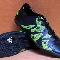 Sepatu Futsal Adidas F50 Adizero Hitam Ghost