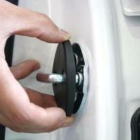 Car door lock cover for Datsun Go