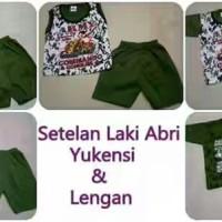 Baju Anak Army