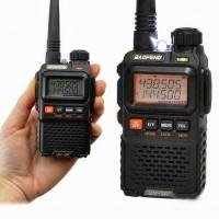 Handy Talky (HT) Baofeng UV-3R Plus Dual Band VHF-UHF