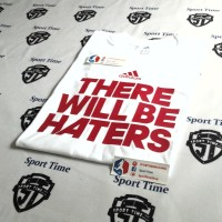 Kaos Adidas There Will Be Haters / T Shirt Adidas There Will Be Haters