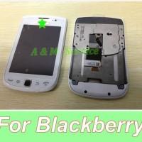 LCD + Touchscreen + Flexible Blackberry BB 9800 Torch 001 Fullset WHT