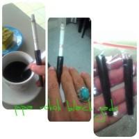 Pipa rokok dari bahan batu Black Jade (Aceh)
