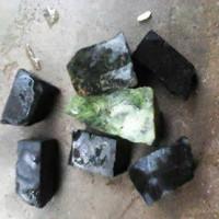 Bahan Black Jade dan Sungai Dareh Badar besi