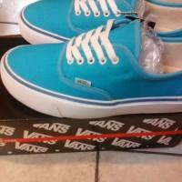 Sepatu Vans Authentic KW Super (Warna Biru Muda)