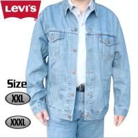 Jaket Jeans Levis Bio Blitz Size Jumbo ( XXL, XXXL )